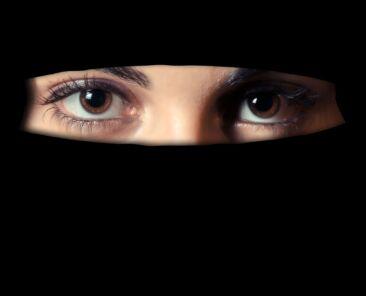 Niqab on a woman (Beauty and Fashion) niqab,religion,woman,muslim,girl,muslim woman,islam